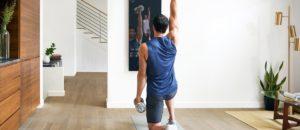 умное зеркало для занятий фитнесом