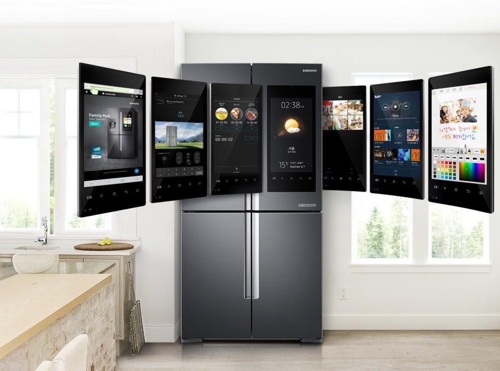 Умный холодильник Hansa